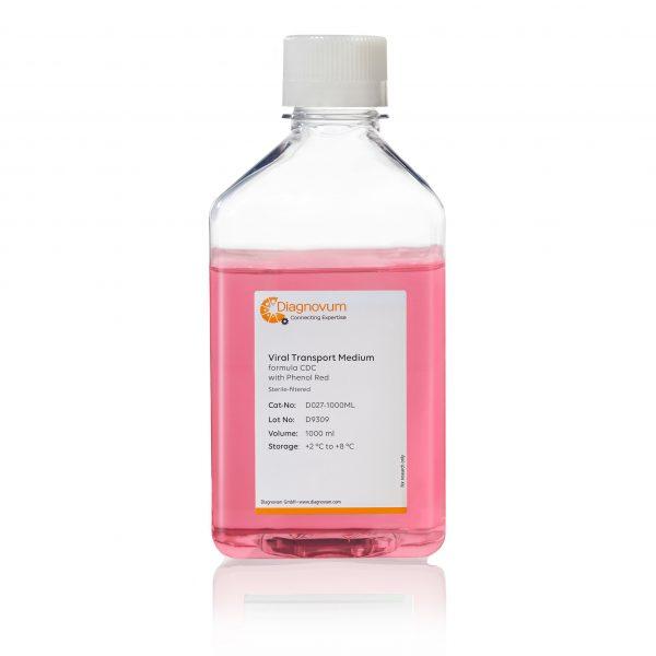 Viral Transport Medium, formula CDC