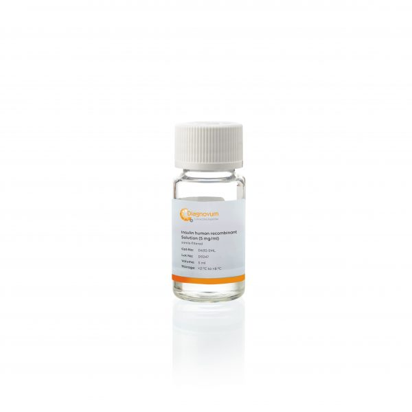 Insulin human recombinant Solution (5 mg/ml)