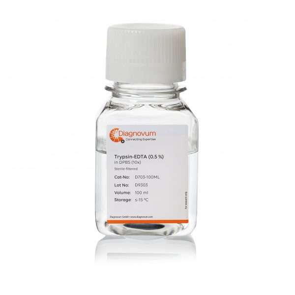 Trypsin-EDTA (0.5%) in DPBS (10x)