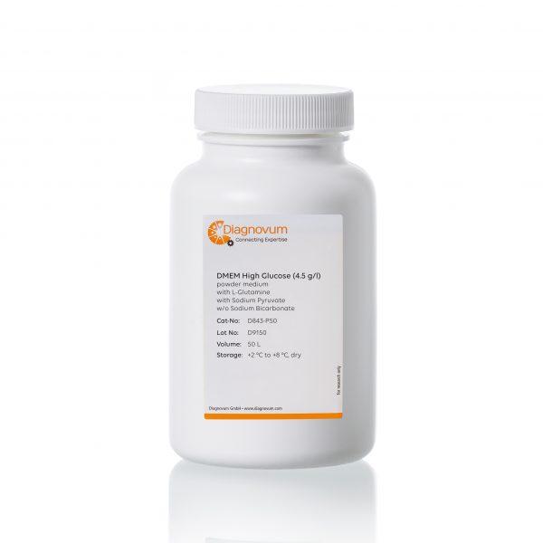 DMEM High Glucose (4.5 g/l) powder medium