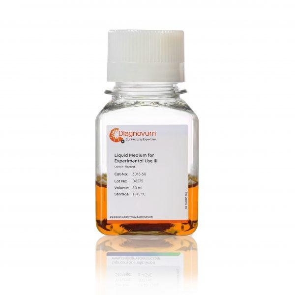 Liquid Medium for Experimental Use III