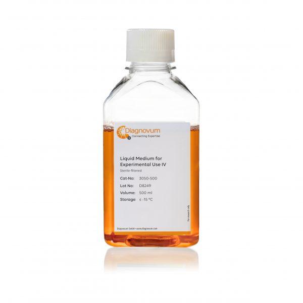 Liquid Medium for Experimental Use IV